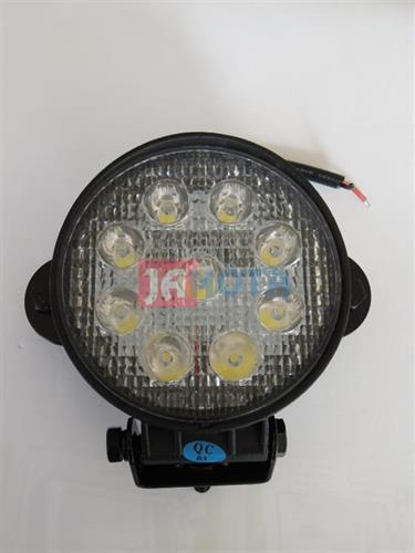 Světlo pracovní LED kulaté 9V - 32V 27W