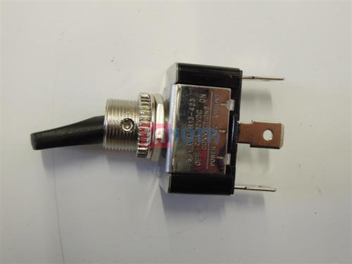 Páčkový vypínač 12V / 20A, svítící červeně