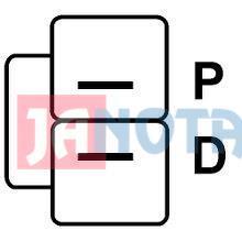 Regulátor alternátoru A003TG1391A, A5T02677Y, A2TB7191, A003TG1291, A002TB0191A, A002TB0191A, 138872