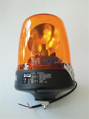 Maják oranžový BRITAX 12V / 24V šroub
