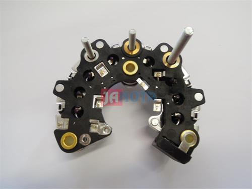 Diodový blok alternátoru ISKRA 14V, O.D. 111 mmm, 8 - 35A diod