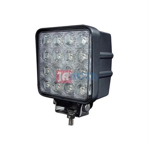 Světlo pracovní LED hranaté 16 X LED, 12V - 48V