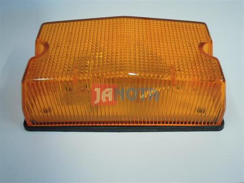 Blinkr - směrové světlo - blikač oranžový hranatý