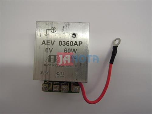 Elektronický regulátor relé dynama 6V / 60W AEV0360AP
