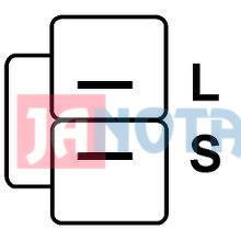 Regulátor alternátou A005T01897, A002T46395B, A002T02394, A2T34794A, A5T22997B, A2T48594C, A2T48298, 132102