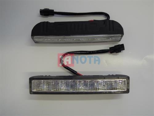 Světla denní svícení LED 12V / 24V 147x25 mm 2x5 LED