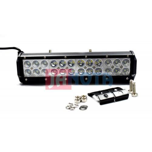 Pracovní světlo rampa panel LED 305 mm 72W