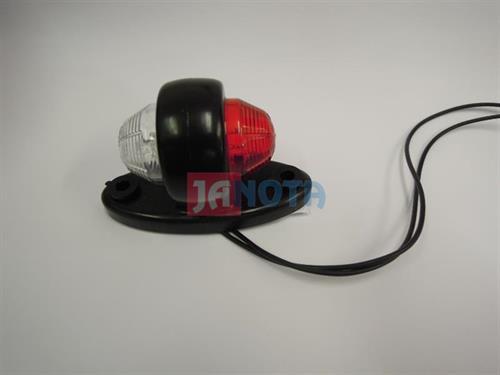Poziční světlo LED pozička červeno - bílá