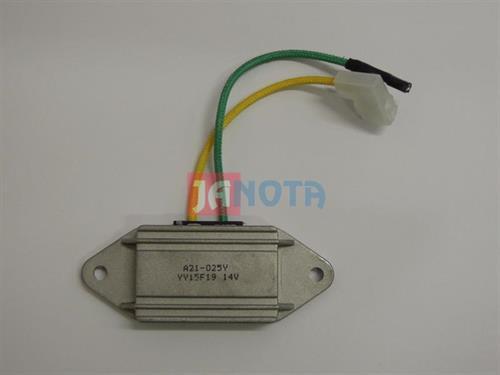 Regulátor alternátoru FIAT 126, FSO 126P, A115-34B, A11534B, 14V