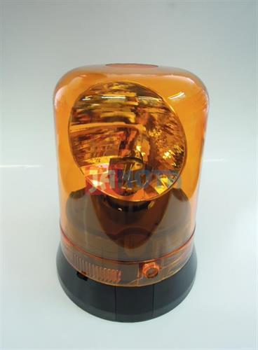 Maják pevný kulatý oranžový 24V
