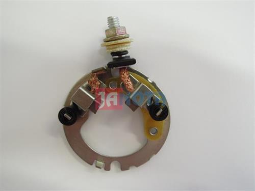 Držák uhlíků startéru Yamaha / Mitsuba, 4WP-81801-00-00