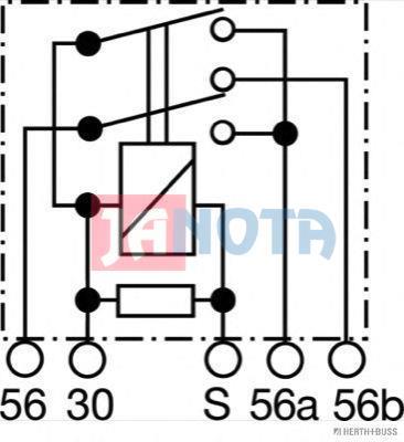 Relé přepínací SA9210,SAR 9210, 12V MAX 2x150W