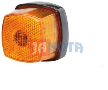 Blinkr blikač - světlo směrové oranžové, poziční světlo hranaté