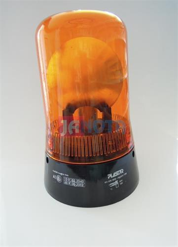 Maják pevný oranžový 12V / 24V H1