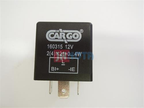 Přerušovač blinkrů směrových světel 12V, W. 2/4x21, 38610-85C00, 611111, 611112, 611116, itjs312
