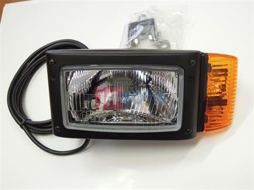 Světlo s blinkrem přední levé  245x110mm  žár. H4, P21W, T4W