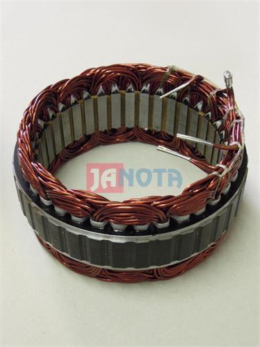 Stator na alternátor NISSAN, LR190-734, LR1100-703B, LR180-749, LR190-734E, 12V, 233607