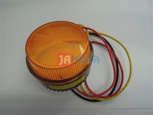Maják oranžovaný zábleskový - stroboskopický 12V / 24V