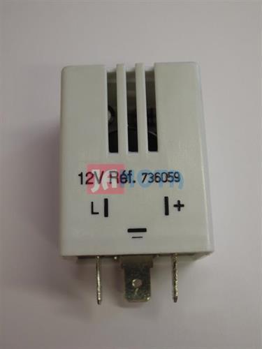 Relé signalizace rozsvícených světel 12V, 13736059, 736059, 7700412030