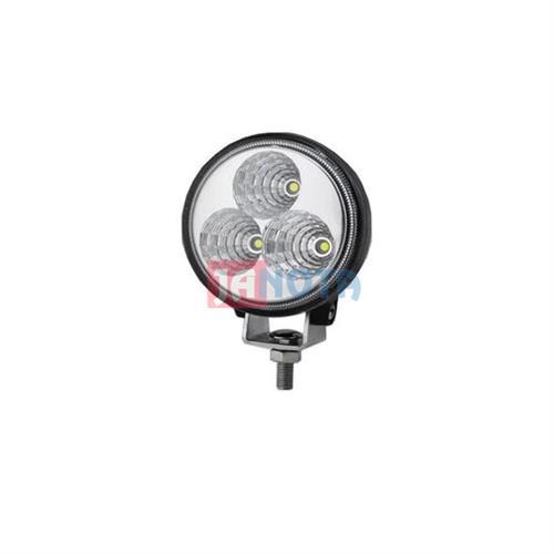 LED pracovní světlo lampa svítilna kulatá 12V - 24V, max. 9W