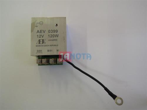 Elektronický regulátor dynama AEV0399, 12V/120W