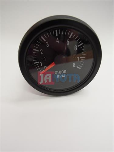 Otáčkoměr 12V, 52 mm