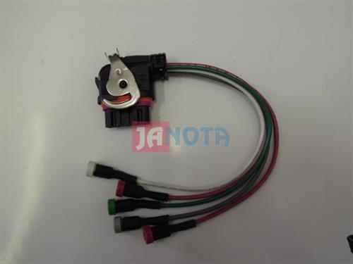 Svorkovnice alternátoru Bosch a Mitsubishi 5 pin