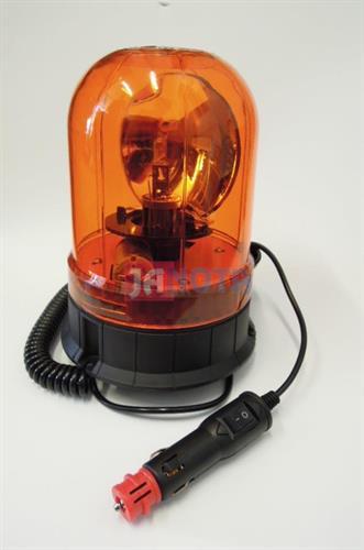 Oranžový maják magnetický 12V - 24V