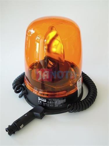 Maják oranžový BRITAX 12V / 24V magnetický rotační
