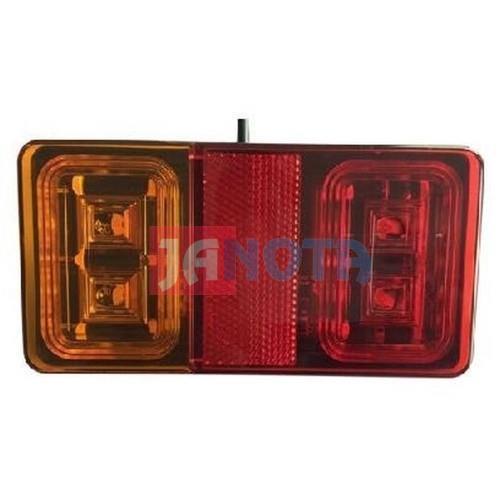Zadní světlo sdružené  LED, 150x80 mm, 12V / 24 V