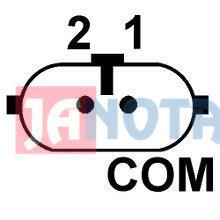 Regulátor alternátoru A004TJ0282, A004TJ0282ZE, A004TJ0281, 8200654786, 8200654785, Renault, 14V